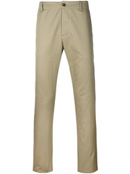 Gucci Slim Fit Chinos Nude Neutrals