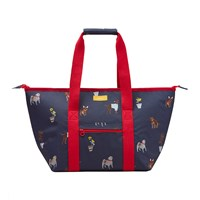 Joules Picnic Tote Bag Blue Dog