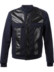 Viktor And Rolf Leather Patch Jacket