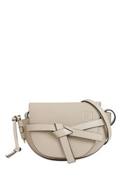 Loewe Gate Mini Grained Leather Bag Light Oat