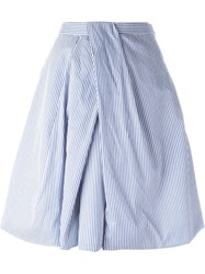 Dsquared2 Pleated Skirt White
