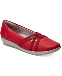 Easy Spirit Aubree Flats Women's Shoes Red