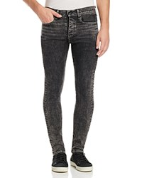 Rag And Bone Standard Issue Fit 1 Slim Fit Jeans In Acid Black