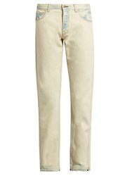 Gucci Slim Fit Bleached Jeans White