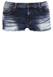 Ltb Shania Denim Shorts Josseline Wash Dark Blue