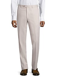 Jack Victor Microfiber Trousers Taupe
