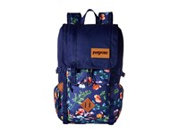 Jansport Hatchet Backpack Multi Navy Mountain Meadow Backpack Bags Blue
