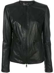 Giorgio Brato Collarless Jacket Black
