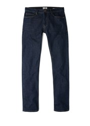 Mango Slim Fit Dark Wash Tim Jeans Blue