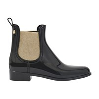 Lemon Jelly Goldie Ankle Boots Black Gold