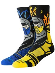 Stance Sub Zero Vs Scorpion Lightweight Socks Black