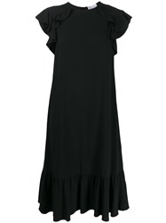Red Valentino Ruffle Trimmed Dress 60