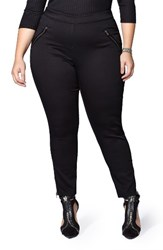 Mblm By Tess Holliday Plus Size Women's Denim Leggings