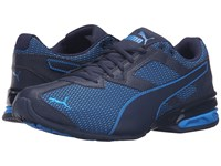 Puma Tazon 6 Mesh Peacoat Electric Blue Lemonade Men's Running Shoes
