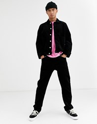 Weekday Sunday Cord Trouser In Black