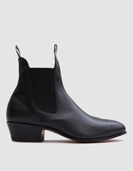 R.M. Williams Archive Boot In Black Yearling