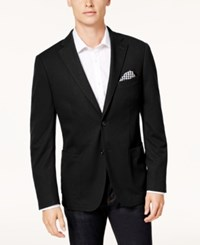 Bar Iii Men's Slim Fit Knit Sport Coat Created For Macy's Black