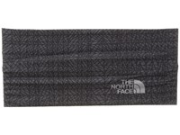 The North Face Dipsea Half Headband Asphalt Grey Plaid Headband Gray