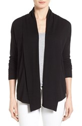 Women's Chaus Ribbed Front Jersey Cardigan