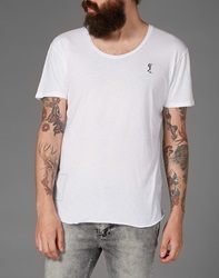 Religion T Shirt With Scoop Neck White
