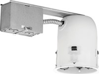 W.A.C. Lighting Line Voltage 4In Remodel Housing Silver