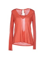 Crossley Topwear T Shirts Women Rust