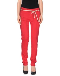 Peuterey Trousers Casual Trousers Women Red