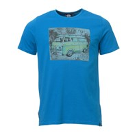Animal Camper Graphic T Shirt Blue