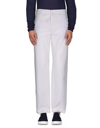 Lacoste Trousers Casual Trousers Men White