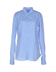 M.Grifoni Denim Shirts Shirts Women Sky Blue