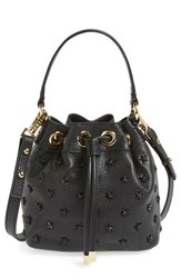 Milly Small Leather Bucket Bag