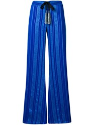 Zeus Dione Alcestes Palazzo Trousers Blue