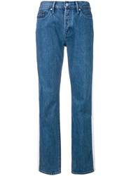 Calvin Klein Jeans High Rise Tapered Blue