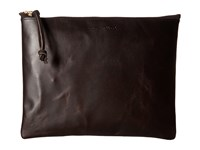 Filson Large Leather Pouch Brown Handbags