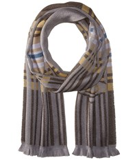 Vivienne Westwood Wool Scarf 36 X 180 Brown Scarves