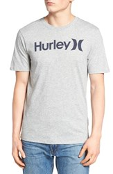Hurley Men's One And Only Dri Fit T Shirt Dark Grey
