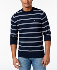 Tommy Hilfiger Signature Crew Neck Striped Sweater
