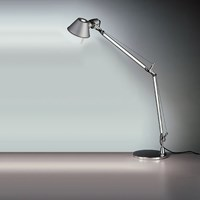 Artemide Tolomeo 9 Inch Classic Table Lamp Silver