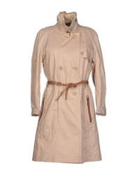 Henry Cotton's Full Length Jackets Beige