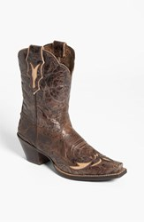 Women's Ariat 'Dahlia' Boot Chocolate Flora