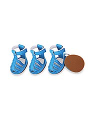 Pet Life Grip Tape Dog Sandals Ocean Blue