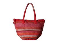 Billabong Even Waves Beach Tote Festival Fuchsia Tote Handbags Pink
