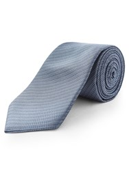 Limehaus Self Stripe Tie Light Blue