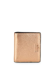 Aimee Kestenberg Tuscany Leather Bi Fold Wallet Rose Gold