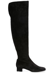 P.A.R.O.S.H. Knee High Boots Black