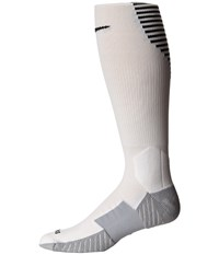 Nike Stadium Football Otc White Black Black Men's Knee High Socks Shoes