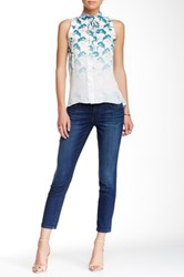 Level 99 Lily Crop New Fit Jean Blue