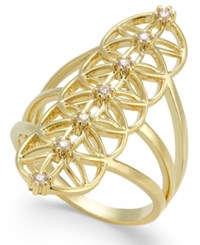 Inc International Concepts Gold Tone Crystal Ring Only At Macy's