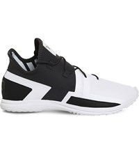 Adidas Y3 Arc Rc Leather Trainers White Utility Black