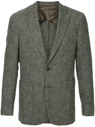 Cerruti 1881 Single Breasted Blazer Grey